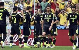 """Cựu vương Tây Ban Nha chia tay World Cup 2014 với chiến thắng 3 """"sao"""""""