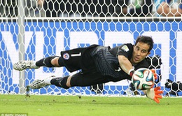 Barcelona chính thức có thủ quân của ĐT Chile Claudio Bravo