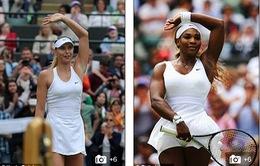 Sharapova – Serena: Cuộc cạnh tranh ngôi hậu Wimbledon ngay tại tứ kết