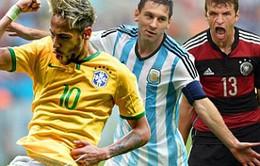 Những cái nhất sau vòng bảng World Cup 2014