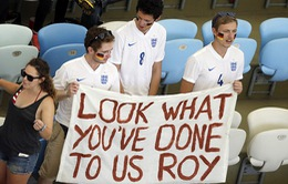 CĐV Anh quay ra cổ vũ cho Đức vô địch World Cup