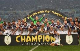 Chủ nhân những giải thưởng đã trao ở FIFA World Cup 2014