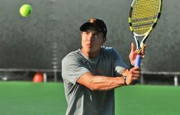 Tay vợt hạng 501 thế giới sắp gia nhập làng quần vợt Việt