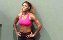 """Serena khoe cơ bụng """"6 múi"""""""