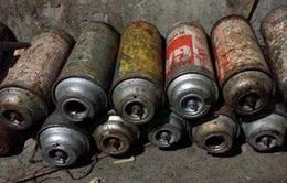 Hà Nội: Phát hiện cơ sở sang chiết gas lậu