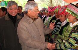 Tổng bí thư Nguyễn Phú Trọng làm việc tại tỉnh Yên Bái