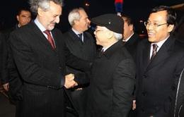 Tổng Bí thư thăm chính thức Cộng hòa Italy