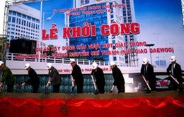 Khởi công cầu vượt Nguyễn Chí Thanh - Kim Mã