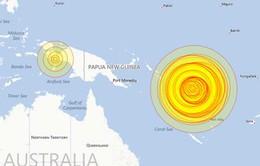 Động đất mạnh gây sóng thần ở Thái Bình Dương