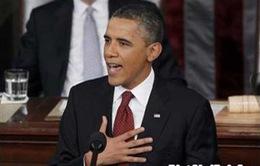 Tổng thống Obama đọc thông điệp liên bang