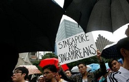 Người dân Singapore phản đối chính sách nhập cư mới