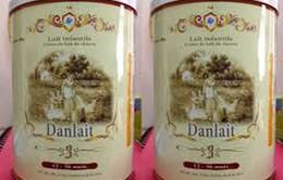 Niêm phong hơn 6.000 hộp sữa dê Danlait