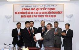 Mở ngành An toàn thông tin đầu tiên tại Việt Nam