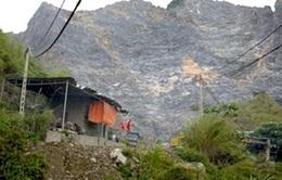 Tái diễn mất an toàn lao động tại mỏ đá