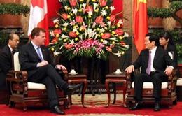 Việt Nam - Canada thúc đẩy quan hệ hợp tác song phương