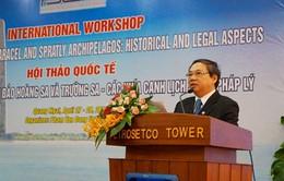 Hội thảo quốc tế về Hoàng Sa và Trường Sa