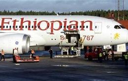 Ethiopian Airlines cho Boeing 787 Dreamliner bay lại