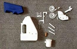 Mỹ: Lần đầu tiên sản xuất súng 3D bắn đạn thật
