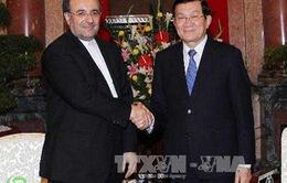 Tăng cường hợp tác thương mại Việt Nam - Iran