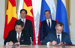 Việt-Nga ký kết nhiều dự án hợp tác quan trọng