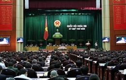 Quốc hội thảo luận về kinh tế xã hội