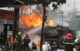 Công bố nguyên nhân gây cháy trạm xăng