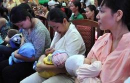 Tỷ lệ nuôi con bằng sữa mẹ ở Việt Nam thấp kỷ lục