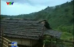 Một cụm dân cư Giẻ Triêng bị bỏ rơi giữa rừng