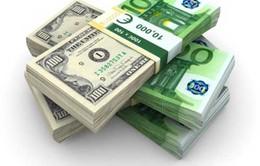 """Đồng Euro bất ngờ trở thành """"vịnh"""" tránh bão"""