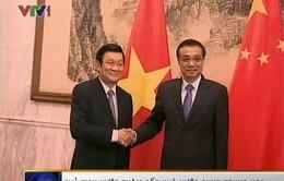 Chủ tịch nước hội kiến Thủ tướng Lý Khắc Cường