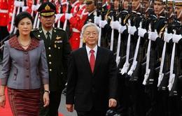 Việt Nam - Thái Lan thiết lập quan hệ đối tác chiến lược