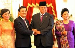 Chủ tịch nước tiếp tục các hoạt động tại Indonesia