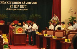 Hà Nội lấy phiếu tín nhiệm 18 chức danh