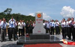 Hoàn thành cắm mốc biên giới Việt - Lào trên thực địa
