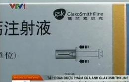 GlaxoSmithKline thừa nhận hối lộ quan chức Trung Quốc