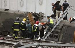 Tây Ban Nha để tang nạn nhân đường sắt