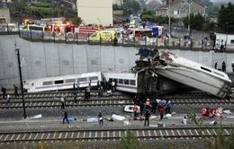 Tai nạn tàu hỏa kinh hoàng tại Tây Ban Nha