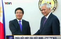 Việt Nam - Philippines hợp tác trên biển và đại dương