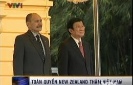 Lễ đón Toàn quyền New Zealand diễn ra trọng thể