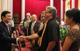 Chủ tịch nước gặp các nhà khoa học dự Hội nghị Gặp gỡ Việt Nam
