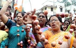 Khủng hoảng… củ hành tại Ấn Độ