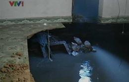 Sụt lún nghiêm trọng tại Quảng Ninh