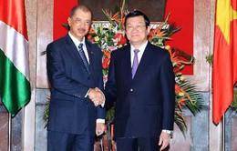 Tổng thống CH Seychelles thăm chính thức Việt Nam