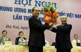 Ông Nguyễn Thiện Nhân giữ chức Chủ tịch Ủy ban TƯ MTTQ Việt Nam