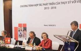Thụy Sĩ tăng 50% ngân sách hỗ trợ Việt Nam