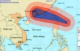 Xuất hiện thêm cơn bão mạnh gần biển Đông
