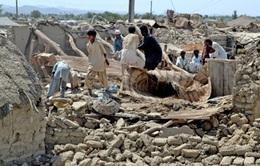Pakistan: Số người chết do động đất tới 348 người