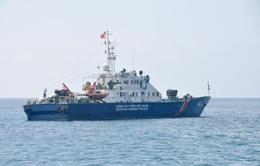 Cảnh sát biển bắt vụ vận chuyển 100.000 lít dầu