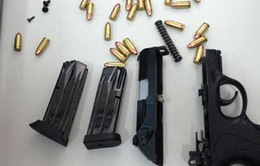 Bắt 20 cây súng vận chuyển bằng đường biển