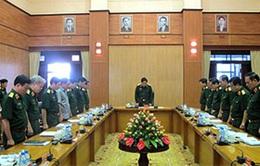 Bộ Quốc phòng triển khai Lễ quốc tang Đại tướng Võ Nguyên Giáp